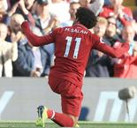 Salah strike maintains perfect start for Reds