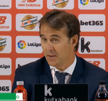 We were unlucky not to get three points against Bilbao - Lopetegui