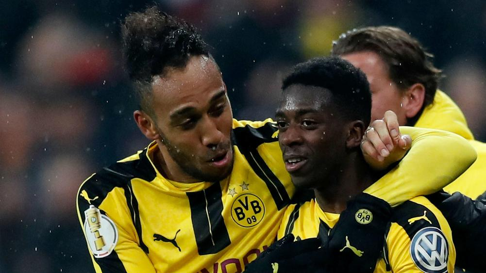 Ousmane Dembele Will Do Well At Barcelona Believes Pierre-Emerick Aubameyang