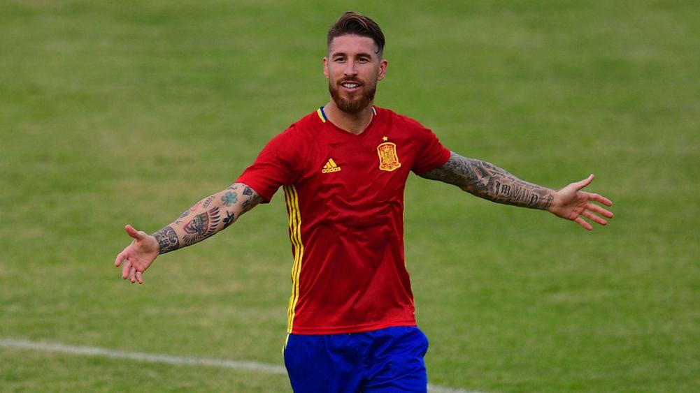 Image result for sergio ramos spain