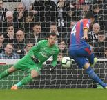 Palace looking safe after Milivojevic penalty