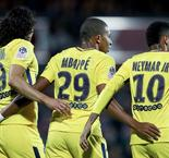 Mbappe dan Neymar Warnai Pesta Gol Paris Saint-Germain