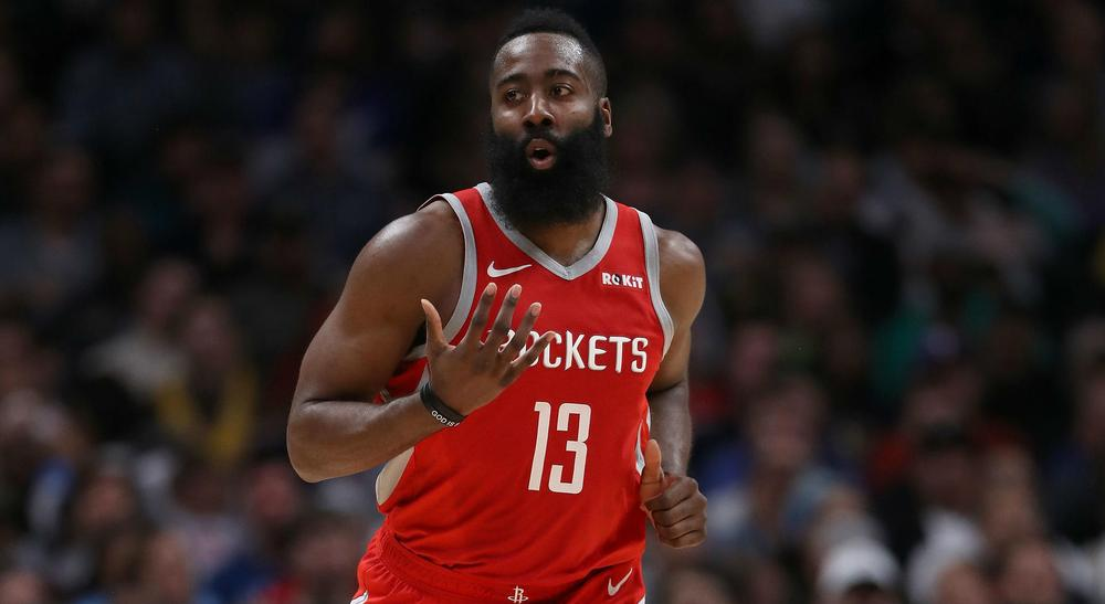 James Harden rallies Rockets in OT to beat Warriors 135-134
