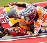 Marquez Edges Viñales to Keep COTA QP Streak Alive