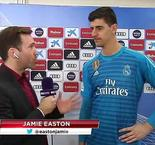 The XTRA: Thibaut Courtois Interview After Real Madrid's 1-0 Win Over Rayo Vallecano