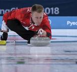 Curling - Men Round Robin Session 1: Canada 5 Italy 3