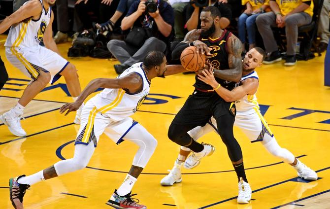 Warriors Take Game 1 In Overtime