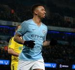 Manchester City 9 Burton Albion 0: Jesus grabs four as City cruise past Brewers