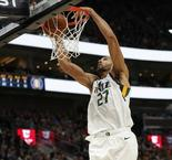 NBA : Gobert frôle le triple-double contre Chicago