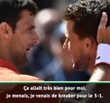 "Thiem : ""Un match épique"""