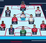 Ligue 1: Team Of The Week - Pekan Ke-25