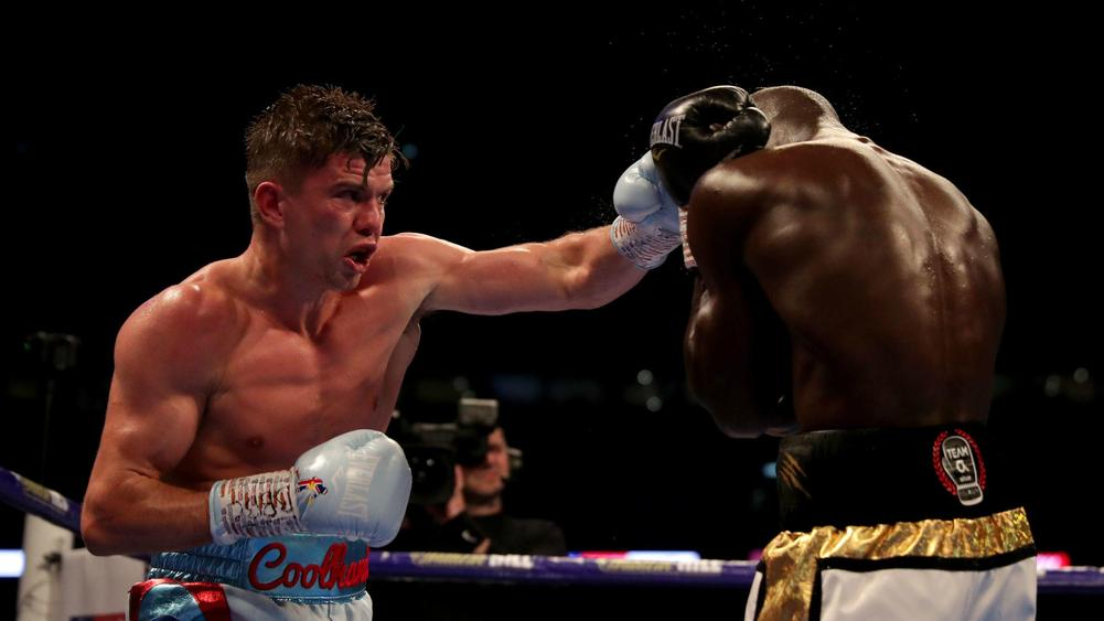 Image result for luke campbell revenges yvan mendy