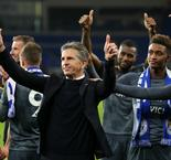 Puel hails players after emotional Leicester win