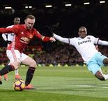 Premier League: Man United 1 West Ham 1