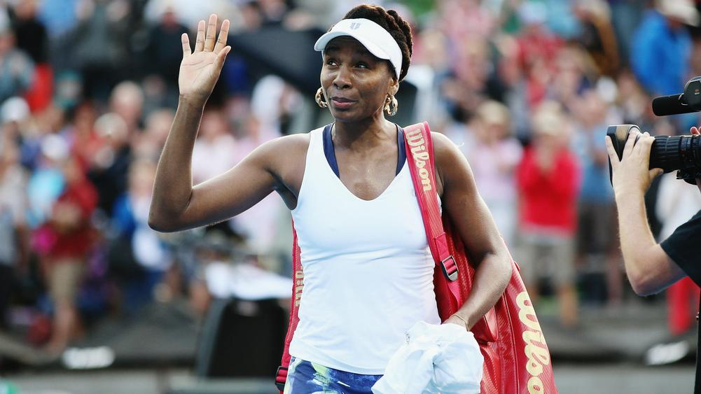 Defending champion Venus Williams ousted in NZ tourney