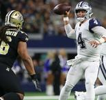 Cowboys end Saints' 10-game winning streak