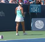Barty fights back to beat Kontaveit in Cincinnati