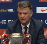 Van Gaal proud to make history with United