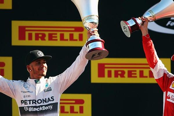 F1: Hamilton Extends his Lead in Title Race