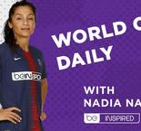 Nadia meets the world's best keeper