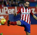 Atlético: Juanfran absent plusieurs semaines