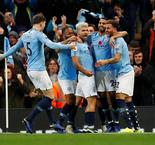 EPL:Manchester City 3 Manchester United 1