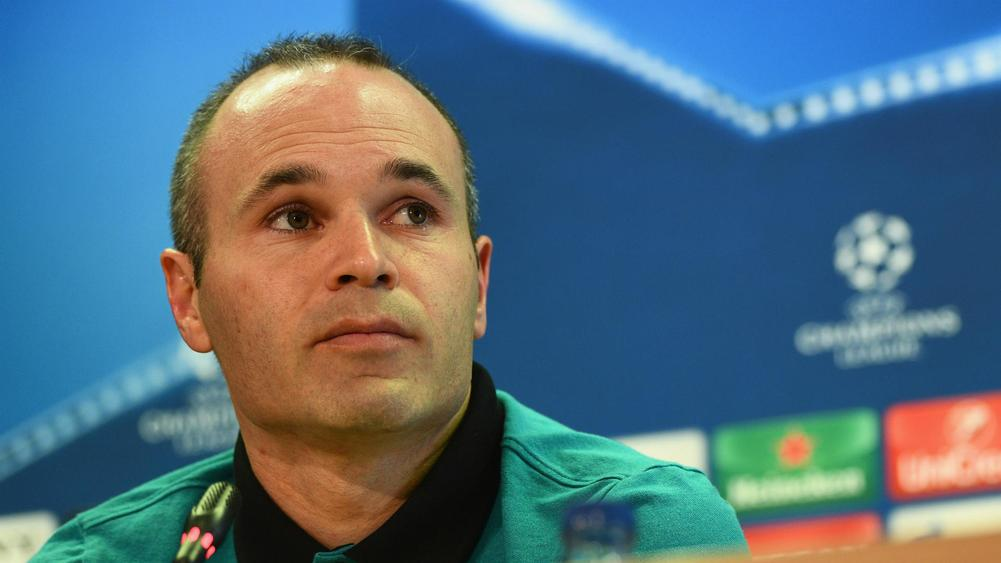 Andres Iniesta- cropped