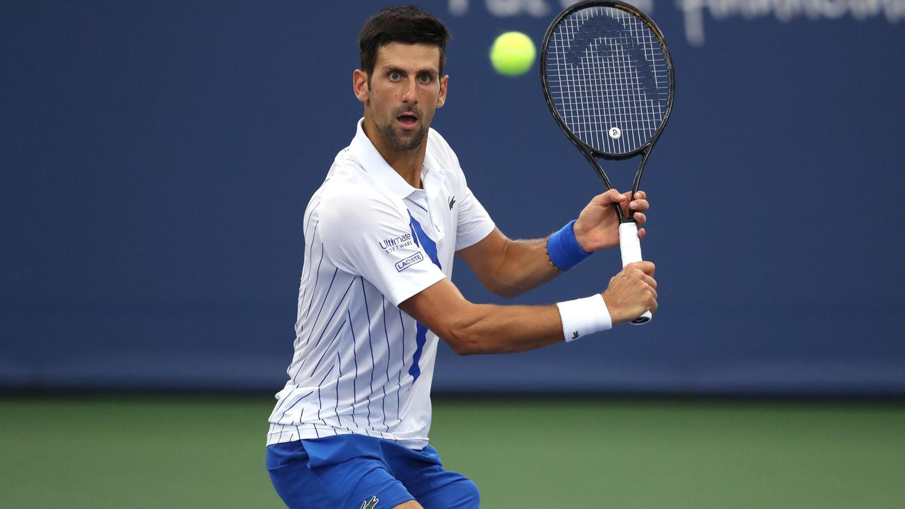 Djokovic Defaulted From Us Open For Hitting Linesperson With Ball