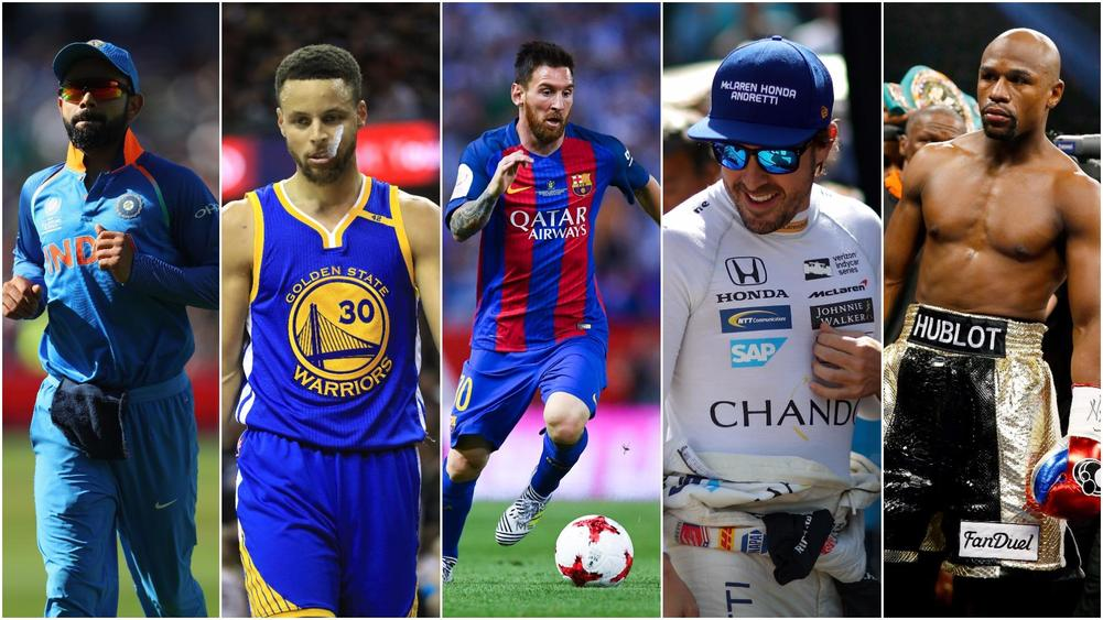 Messi 2021 How The Barcelona Great S New Paypacket Compares To Curry Kohli Mayweather And Others