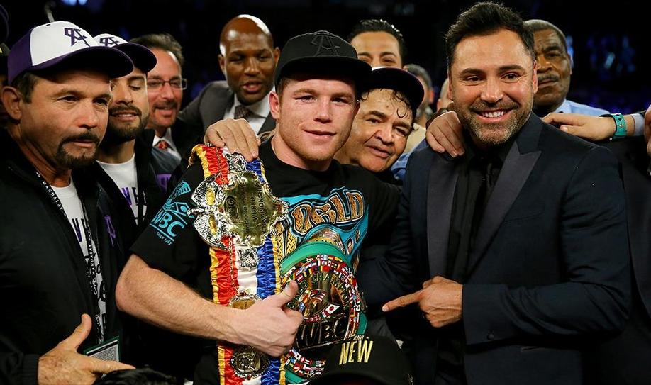 'Canelo' Alvarez new middleweight champion after beating Miguel Cotto
