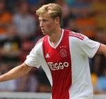 "Ajax's De Jong ""Certainly Not Leaving This Winter"""