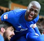 Cardiff City 2 Brighton and Hove Albion 1: Bamba the hero as Bluebirds break down 10 men