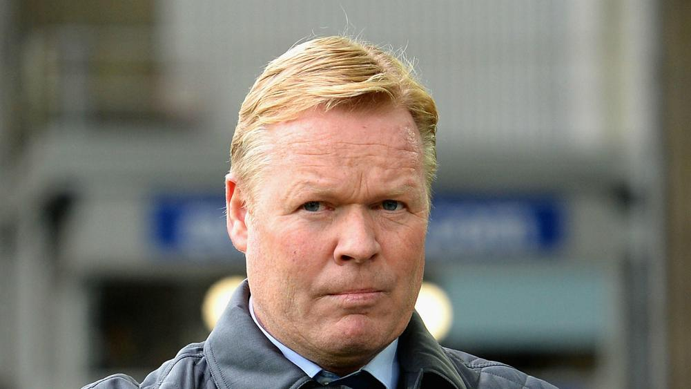 Everton sack Ronald Koeman