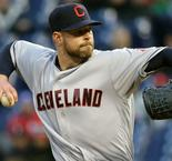 Kluber strikes out 13 as Indians win franchise-record 15th straight game