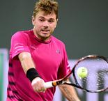 Stan Wawrinka Overcomes Dominic Thiem To Reach Indian Wells Semi-Finals