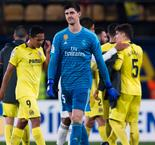 Courtois bemoans missed chances after Real Madrid draw