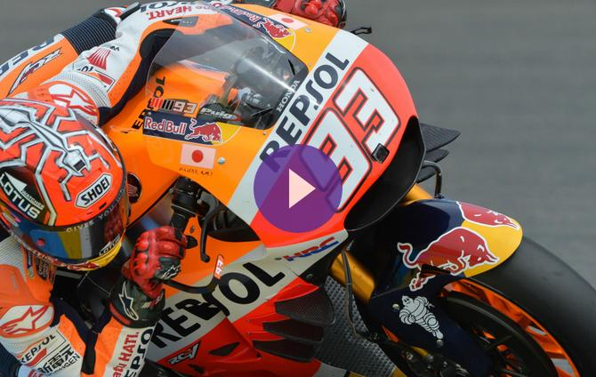 Marc Marquez Says He Tried His Best At Italian GP But Jorge Lorenzo Was Too Strong