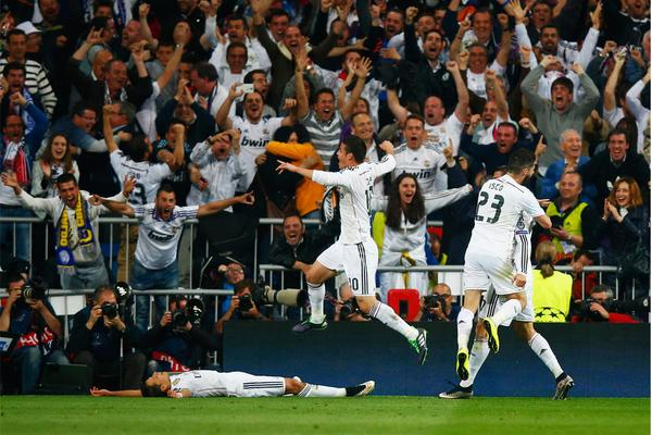 Route au demi-finales.. Real Madrid
