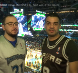 Deux abonnés au NBA All-Star Game