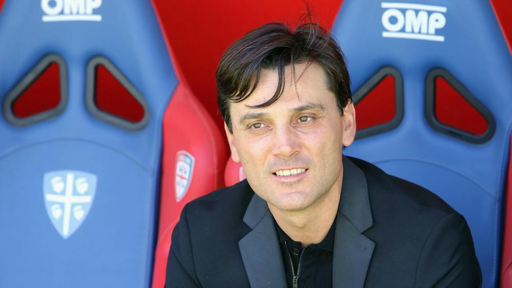 AC Milan coach Montella renews contract until 2019
