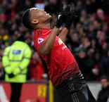 Martial stars as United unsticks Toffees