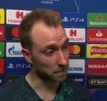 UEFA Champions League - Christian Eriksen Reaction