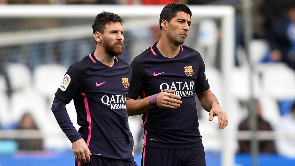 Messi and Suarez - Cropped
