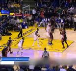 NBA : Curry se fait posteriser dans le Top 10 de NBA Extra
