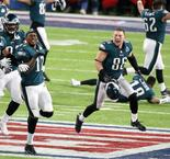 Super Bowl LII: Philadelphia Eagles v New England Patriots- Eagles beat Patriots 41-33 to win first ever Super Bowl
