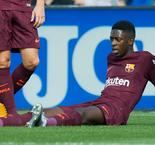 Dembele steps up Barcelona training ahead of comeback
