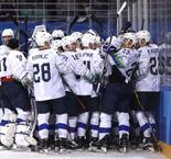 Ice Hockey - Men's: USA 2 Slovenia 3