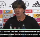 "Ligue des Nations - Löw : ""Il y a plus de points positifs que de points négatifs"""