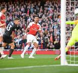 Arsenal 2 Everton 0: Lacazette, Aubameyang extend winning streak