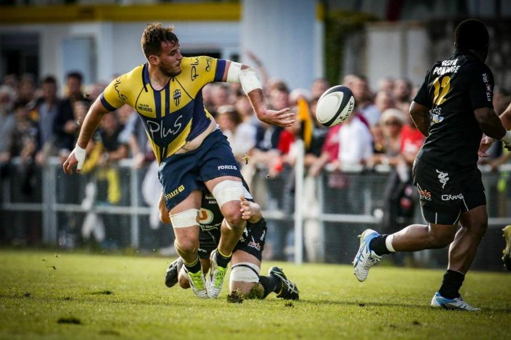 F d rale 1 nevers rejoint la pro d2 for Nevers chambery
